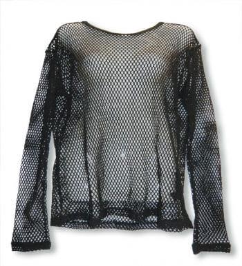 Langarm Netzshirt Gr.XL