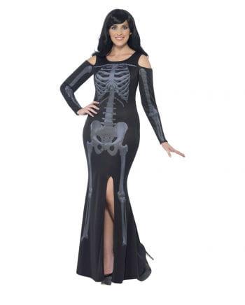Kurviges Skelett Kleid
