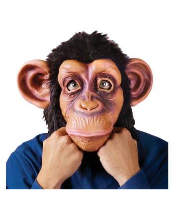 Latex Chimpanzee Full Head Mask
