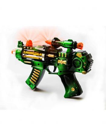 LED Light & Sound Zodiac Space Rifle