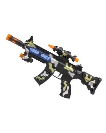 LED Light & Sound Super Machine Gun