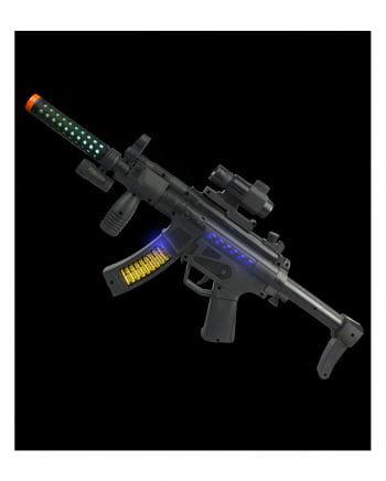 LED Light & Sound Bravo Shooter Rifle