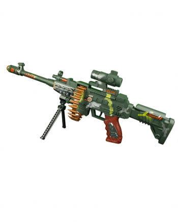 LED Maschinengewehr Camouflage