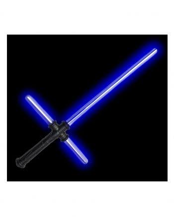 Blaues LED Tri-Saber Lichtschwert mit Sound