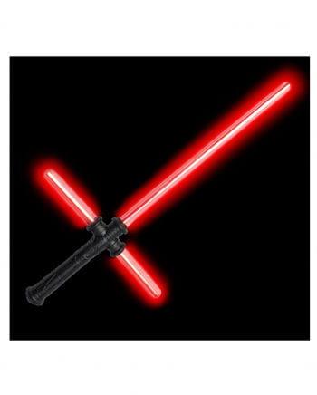 Rotes LED Tri-Saber Lichtschwert mit Sound