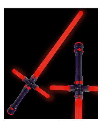 Rotes LED Lichtschwert 87cm