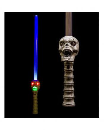 LED Totenkopf Schwert mit Sound