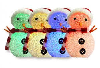 RGB Colour Changing LED Snowman