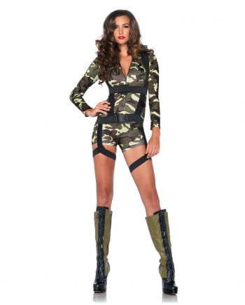Verführerisches Army Girl Kostüm