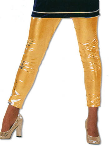 Shiny Gold Leggings S / 36