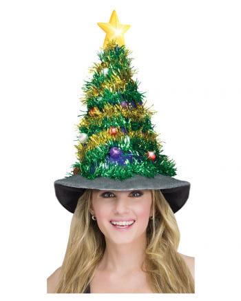 Tannenbaumhut mit LED Beleuchtung