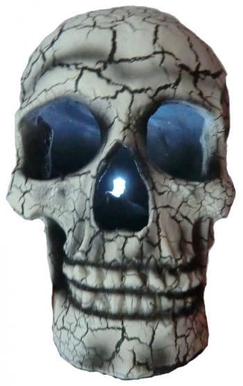 Light Up Skull White
