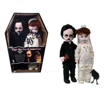 Living Dead Dolls Edgar Allan Poe and Annabelle Lee
