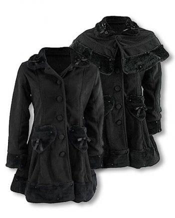 Lolita and Gothic Fleece Coat S