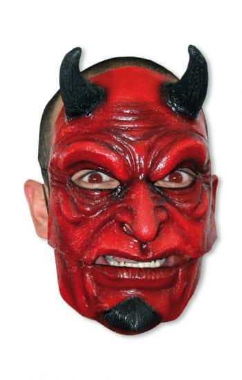 Satans Maske mit Hörner
