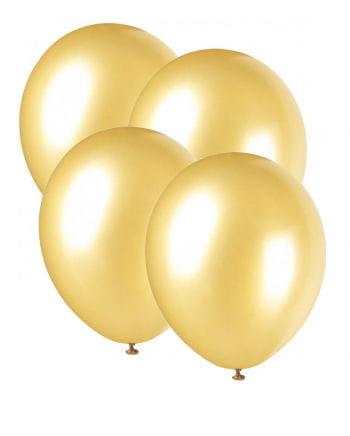 Metallic-Luftballons goldglänzend 25 St.