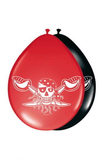 Red Pirate Balloons