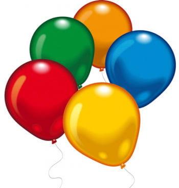 500 bunte Luftballons XXL Box