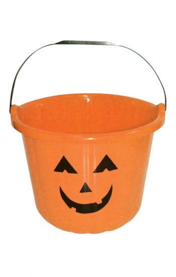 Funny Halloween Bucket Orange