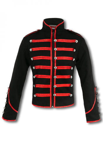 Tamer jacket black / red