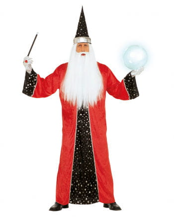 Magician Costume Red XL