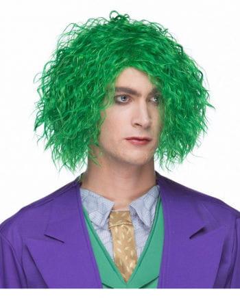 Maniac curly wig green