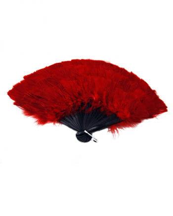 Marabu Feather Fan Red