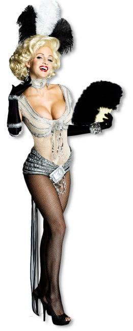 Marilyn Showgirl Kostüm
