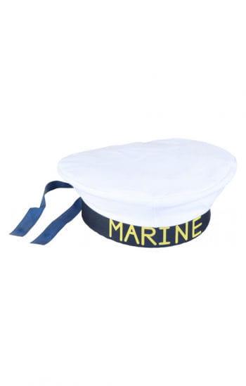 Matrosen Mütze weiß/blau