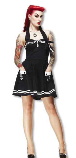 Matrosen Pinup Petticoat Kleid