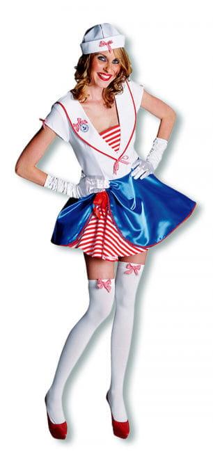 Matrosen-Mädchen Premium Kostüm