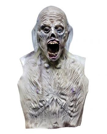 Zombie Maske mit Oberkörper