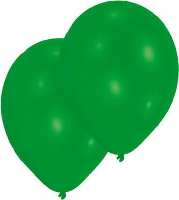 Premium Luftballons metallic grün