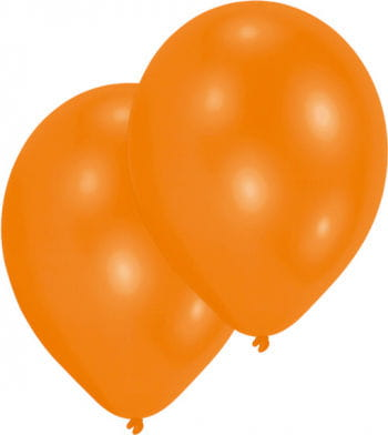 Premium Luftballons metallic orange