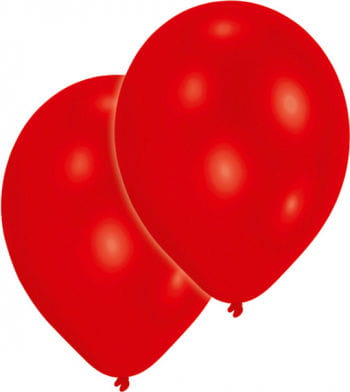 Premium Luftballons metallic rot