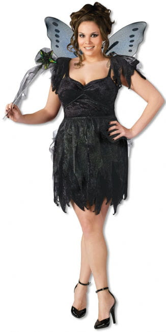 Midnight Fairy Costume Plus Size