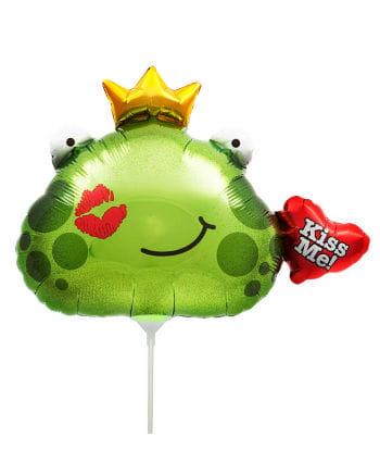 Mini-Folienballon Froschkönig