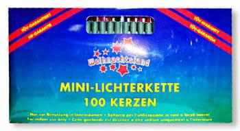 Mini Lichterkette 100 Kerzen