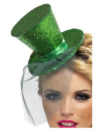 Mini Hut grün mit Tüll