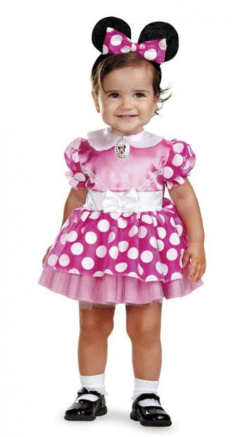 Minnie Mouse Baby Costume 12-18 Mo