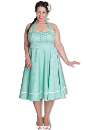 Mintgrünes Petticoat Kleid Plus Size