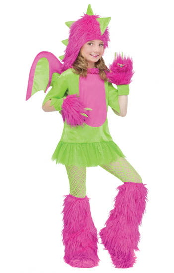 Miss Dragon Child Costume