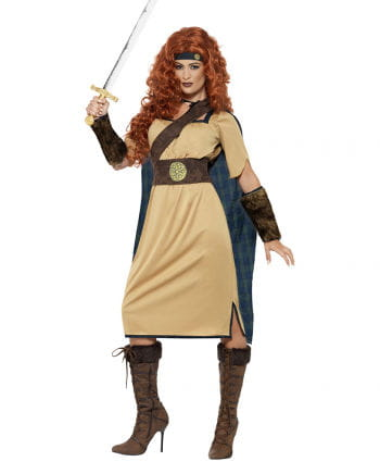 Medieval warrior costume for women
