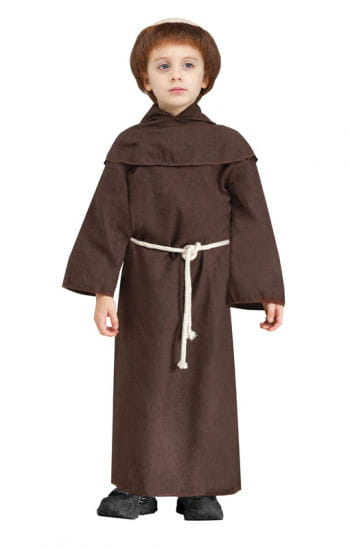 Monk Child Costume with Wig