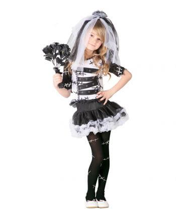 Gruselige Braut Mädchenkostüm