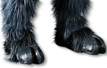 Monster hooves gray