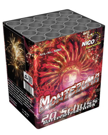 Montezuma Battery Fireworks 20 shots