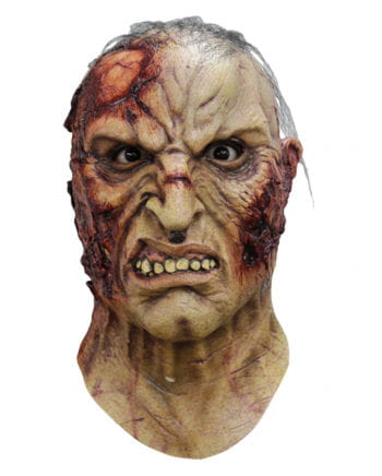 Mortus Zombie Mask with Hair