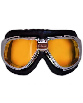 Motoradbrille with tinted lenses
