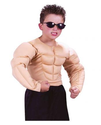 Muskelmann Kinderkostüm L